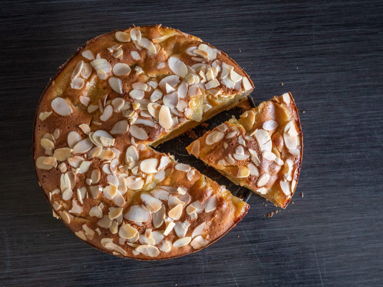 Gâteau normand aux pommes (Normandische appelcake)