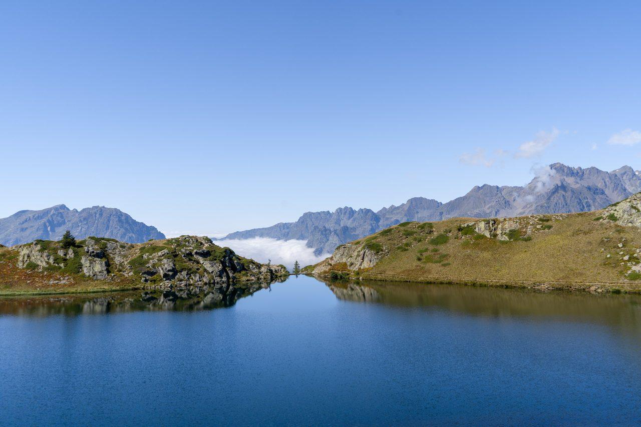 Wandelen bij Alpe d'Huez